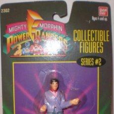 Figuras y Muñecos Power Rangers: POWER RANGER - BANDAI 1994/95 - TAMAÑO 7 CM. NUEVO SIN ESTRENAR. Lote 236411355