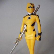 Figuras y Muñecos Power Rangers: MIGHTY MORPHIN POWER RANGERS AMARILLO FIGURA DE PVC GVS. Lote 110931275
