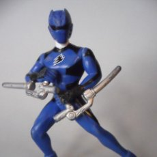 Figuras y Muñecos Power Rangers: MIGHTY MORPHIN POWER RANGERS AZUL FIGURA DE PVC GVS. Lote 110931339
