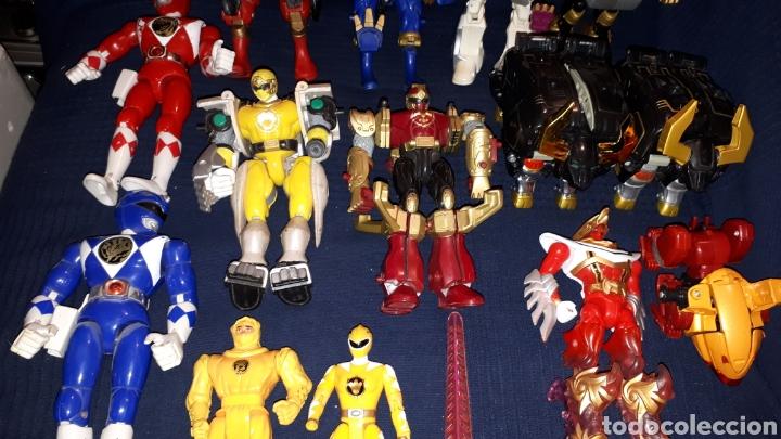 Gran Lote Power Rangers Varios Tipos Modelos Ep Sold Through