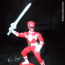 Figuras y Muñecos Power Rangers: RANGER ROJO - FIGURA PVC - 1993 POWER RANGERS BANDAI -. Lote 112338327