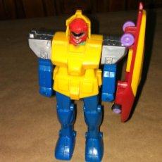 Figuras y Muñecos Power Rangers: FIGURA POWER RANGER ROJO BOOTLEG COPIA MEGAZORD TRANSFORMERS GUNDAM ACUMULADOR DE ENERGÍA. Lote 112797607