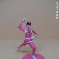 Figuras y Muñecos Power Rangers: FIGURA PVC POWER RANGER ROSA 1995 SABAN. Lote 112865347