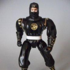 Figuras y Muñecos Power Rangers: MIGHTY MORPHIN POWER RANGERS BLACK NINJA FIGURA DE 14 CM BANDAI 1995. Lote 113452239