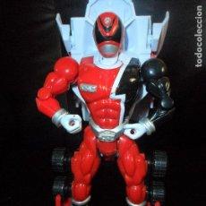 Figuras y Muñecos Power Rangers: RANGER ROJO 19CM. TRASNFORMABLE MORPHIN EN COCHE - POWER RANGERS SPD S.P.D 2005 BANDAI. Lote 115650295