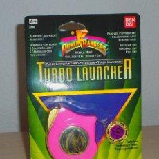Figuras y Muñecos Power Rangers: POWER RANGERS TURBO LAUNCHER LANZADERA BANDAI AÑO 1995 ROSA NUEVO!!. Lote 133522722