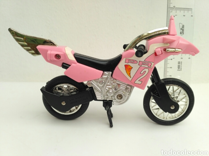 MOTO POWER RANGERS BANDAI 94 ROSA (Juguetes - Figuras de Acción - Power Rangers)