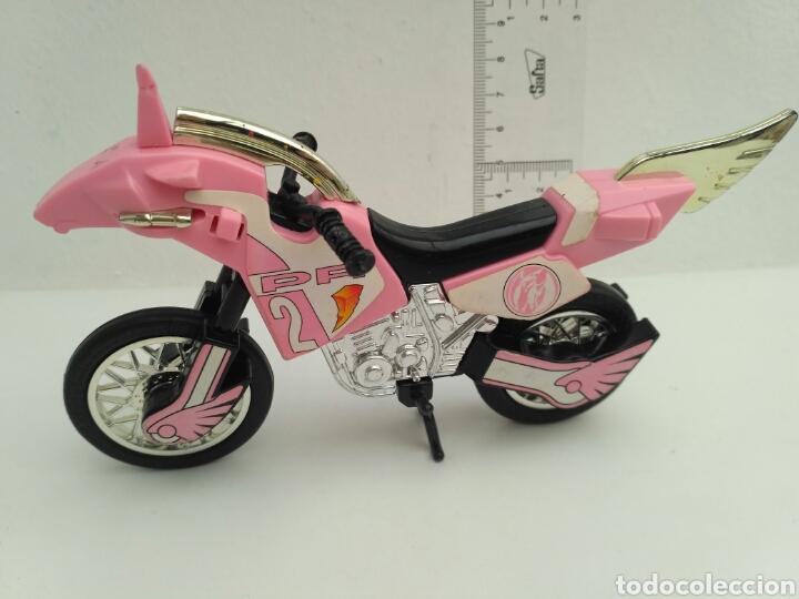 Figuras y Muñecos Power Rangers: Moto power rangers Bandai 94 rosa - Foto 3 - 116435306