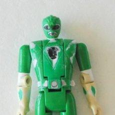 Figuras y Muñecos Power Rangers: FIGURA POWER RANGERS VERDE AUTO MORPHIN 1993 BANDAI. Lote 121074919