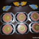 Figuras y Muñecos Power Rangers: MINI MUÑECOS FIGURAS POWER RANGERS Y 6 BASES MORPH. Lote 121438151