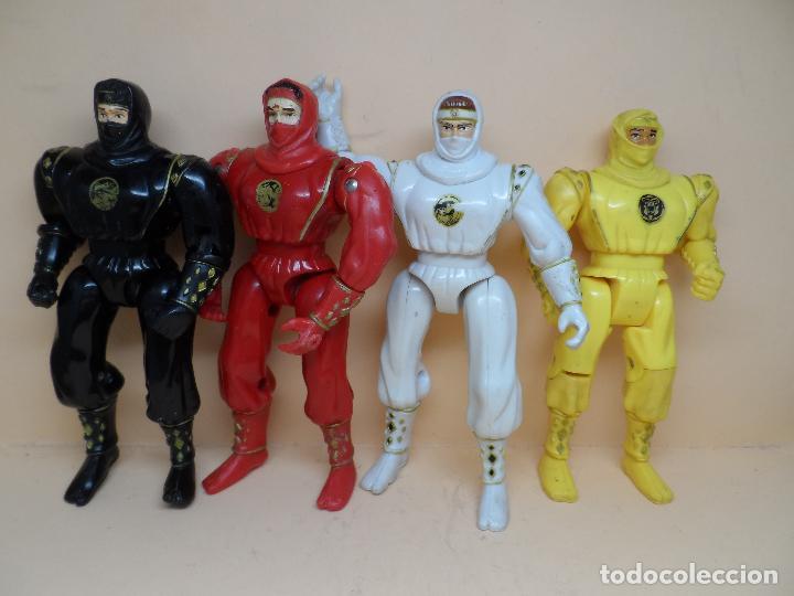 LOTE FIGURAS POWER RANGERS 1995 BANDAI (Juguetes - Figuras de Acción - Power Rangers)