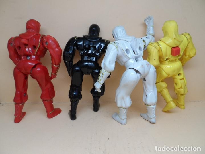 Figuras y Muñecos Power Rangers: LOTE FIGURAS POWER RANGERS 1995 BANDAI - Foto 2 - 121905659