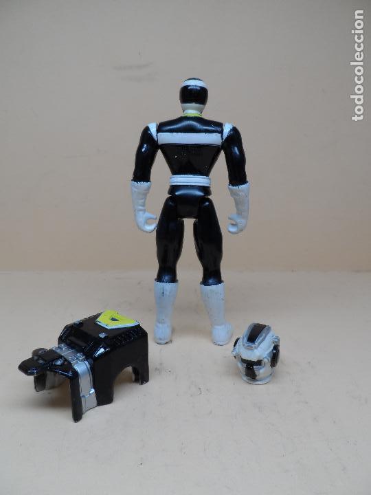 Figuras y Muñecos Power Rangers: POWER RANGERS IN SPACE LUNAR BLACK RANGER 1998 BANDAI - Foto 3 - 122191115