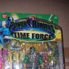 Figuras y Muñecos Power Rangers: POWER RANGER PLATINE FORCE VERT. Lote 122452775