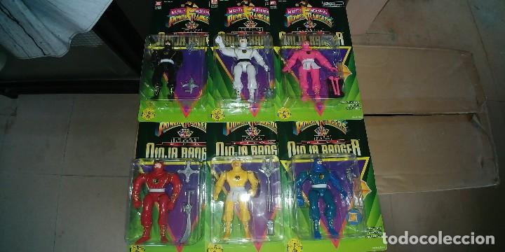 MIGHTY MORPHIN POWER RANGERS NINJAS 1995 (Juguetes - Figuras de Acción - Power Rangers)