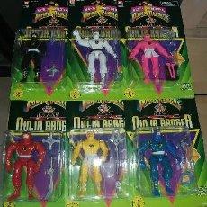 Figuras y Muñecos Power Rangers: MIGHTY MORPHIN POWER RANGERS NINJAS 1995. Lote 128421511