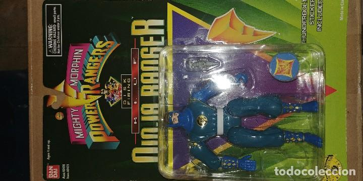 Figuras y Muñecos Power Rangers: mighty morphin power rangers ninjas 1995 - Foto 6 - 128421511