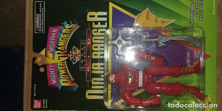 Figuras y Muñecos Power Rangers: mighty morphin power rangers ninjas 1995 - Foto 7 - 128421511
