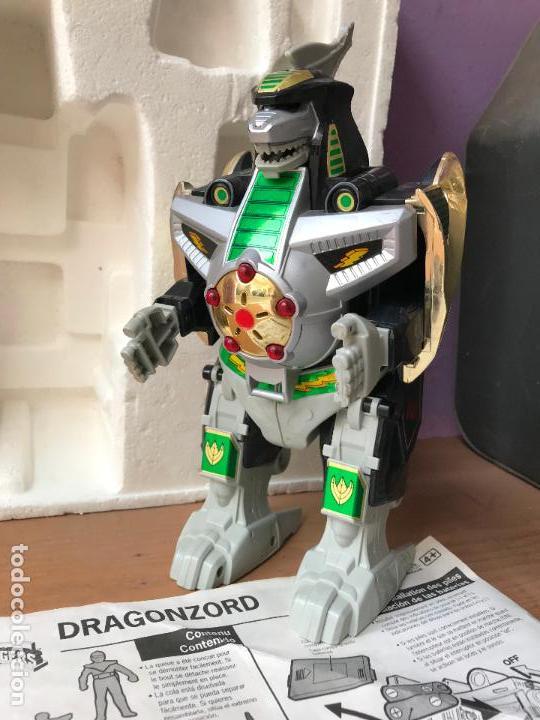Dragonzord Power Rangers Tipo Dinozord O M Sold Through