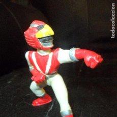 Figuras y Muñecos Power Rangers: BIOMAN ROJO - FIGURA PVC MARCA YOLANDA SPAIN 1988 - 8CM.. Lote 128602287