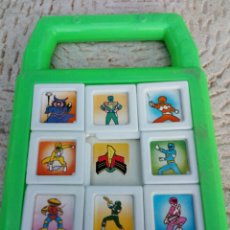 Figuras y Muñecos Power Rangers: PUZZLE POWER RANGERS AÑOS 90,BERNABÉU GISBERT ,IBI SPAIN. Lote 128821787