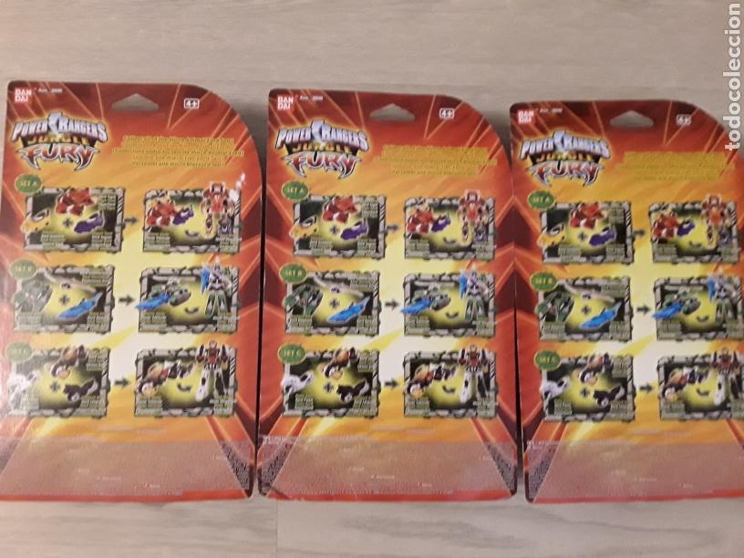 Figuras y Muñecos Power Rangers: Lote 3 figuras power rangers transformables. Aproveché esta oportunidad. - Foto 2 - 216982733