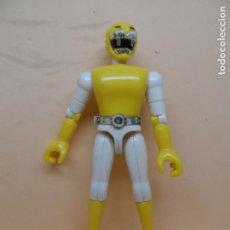 Figuras y Muñecos Power Rangers: FIGURA BIOMAN AMARILLO LEON 1988 BANDAI TOEI. Lote 130387370