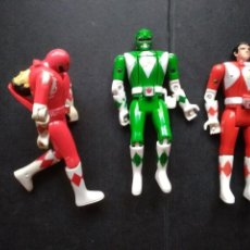 Figuras y Muñecos Power Rangers: FIGURAS POWER RANGERS CABEZAS GIRATORIAS INTERCAMBIABLES. Lote 149213354
