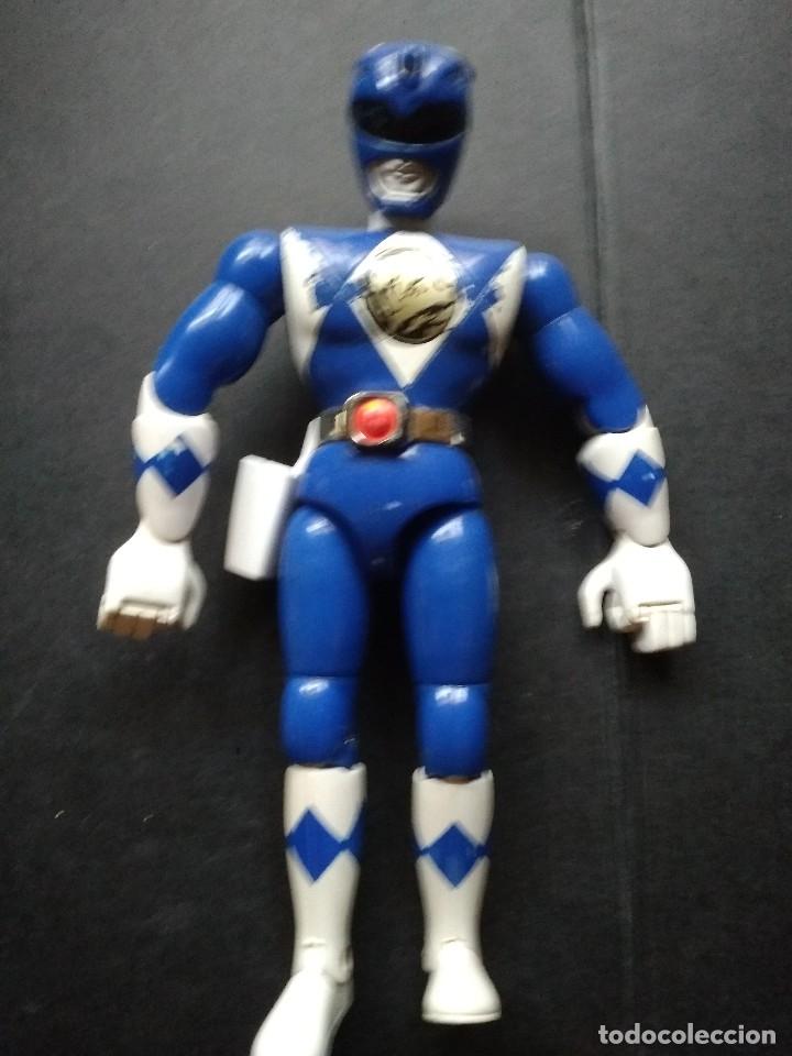 FIGURA POWER RANGER AZUL GRANDE 20 CM (Juguetes - Figuras de Acción - Power Rangers)