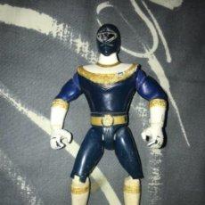 Figuras y Muñecos Power Rangers: ANTIGUA FIGURA POWER RANGERS AZUL BANDAI 1996. Lote 133704698
