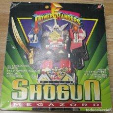 Figuras y Muñecos Power Rangers: POWER RANGERS DELUXE SHOGUN MEGAZORD, BANDAI 1995 SABAN, CON CAJA. Lote 131423438