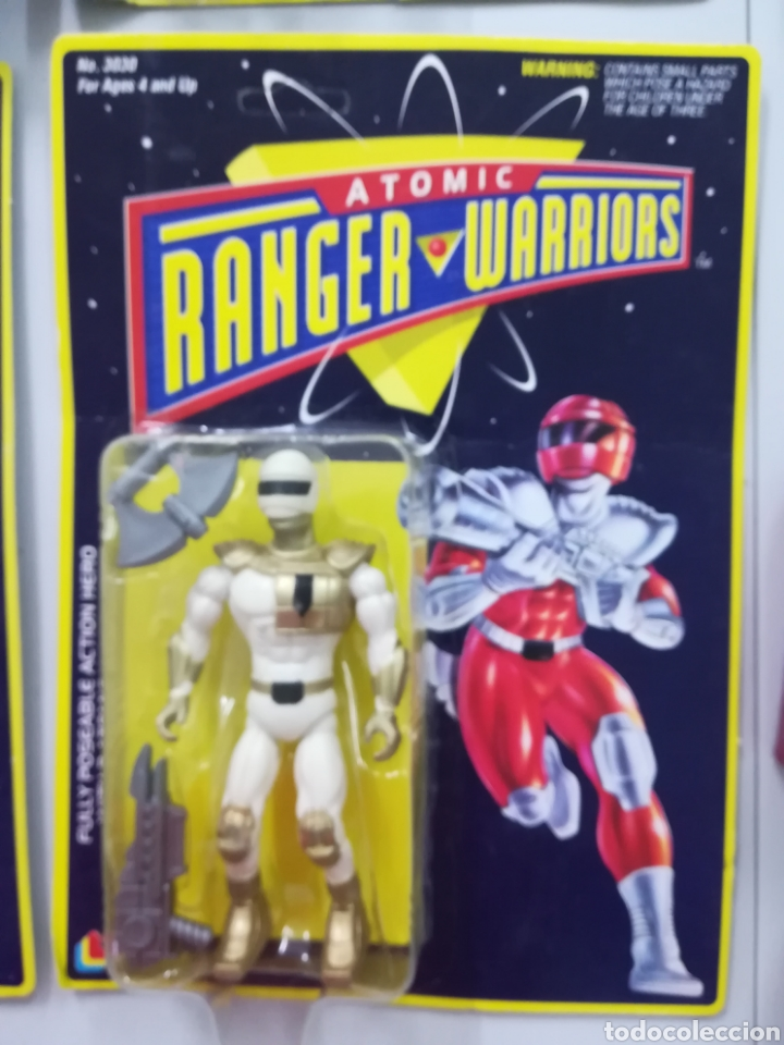 Atomic Ranger Warriors Figura De Accion Tipo Mo Sold Through