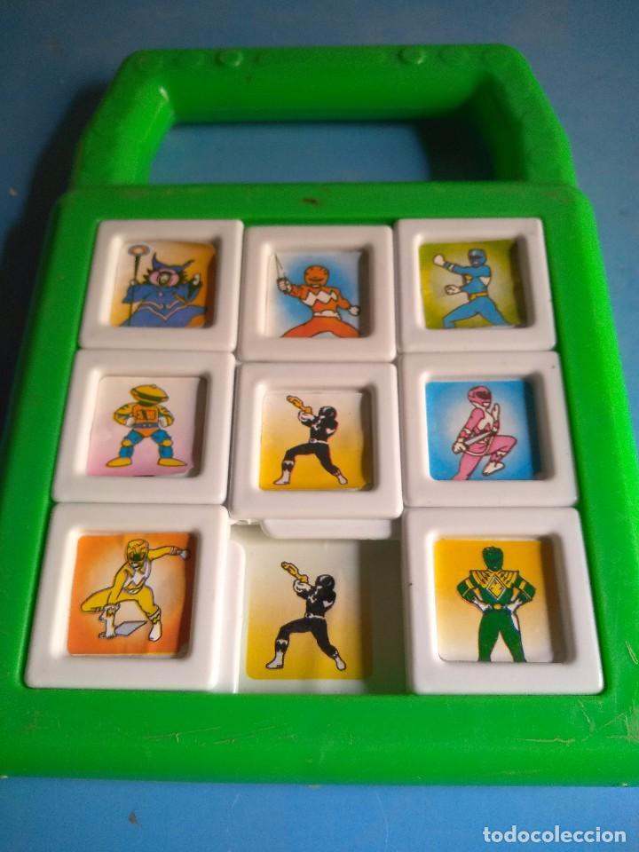 POWER RANGERS PUZZLE AÑOS 90 BERNABÉU GISBERT IBI MADE UN SPAIN (Juguetes - Figuras de Acción - Power Rangers)