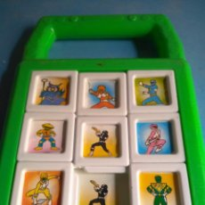 Figuras y Muñecos Power Rangers: POWER RANGERS PUZZLE AÑOS 90 BERNABÉU GISBERT IBI MADE UN SPAIN. Lote 132277514
