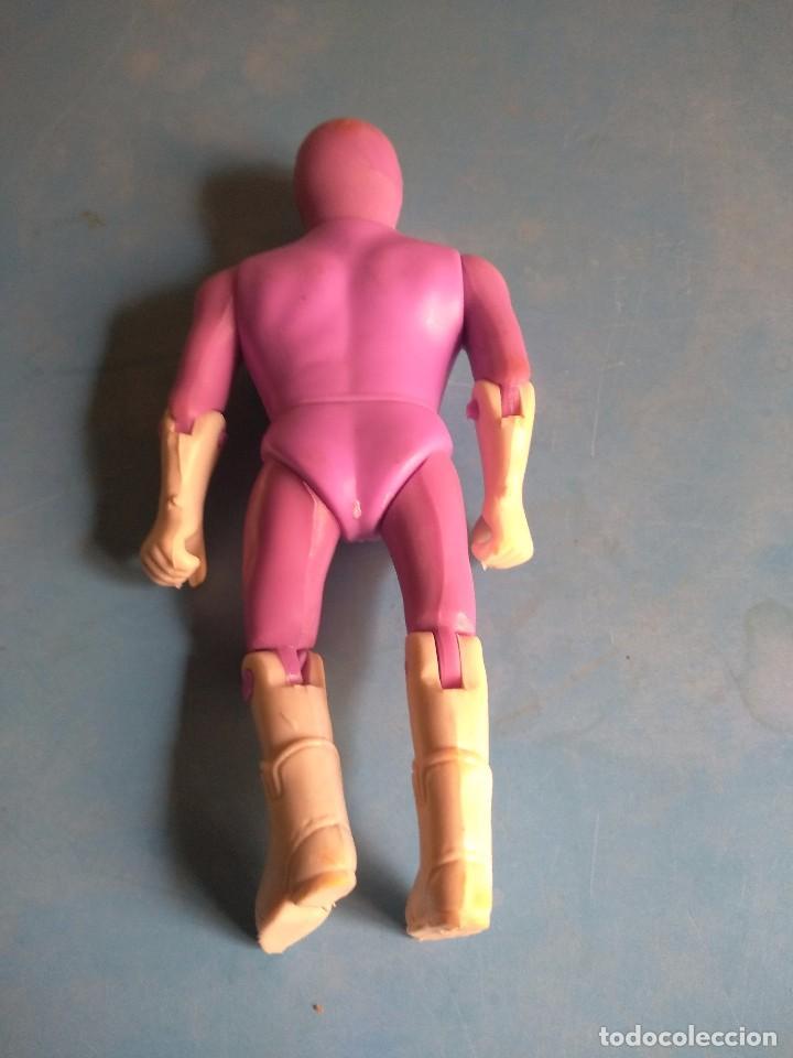 Figuras y Muñecos Power Rangers: Power Rangers muñeco Rosa años 90,no lleva marca - Foto 2 - 132277998