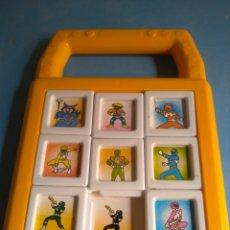 Figuras y Muñecos Power Rangers: POWER RANGERS PUZZLE AÑOS 90, BERNABÉU GISBERT IBI MADE IN SPAIN,SIN USO. Lote 132284535
