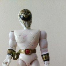 Figuras y Muñecos Power Rangers: FIGURA POWER RANGER BLANCO BANDAI. Lote 133718670