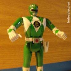 Figuras y Muñecos Power Rangers: LOTE FIGURA POWER RANGER VERDE BANDAI 1993. Lote 133743882