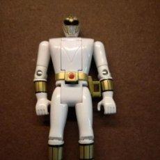 Figuras y Muñecos Power Rangers: FIGURA ORIGINAL POWER RANGERS BLANCO BANDAI AÑOS 90. Lote 133764130