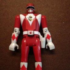 Figuras y Muñecos Power Rangers: FIGURA ORIGINAL POWER RANGERS ROJO BANDAI AÑOS 90. Lote 133764226