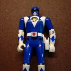 Figuras y Muñecos Power Rangers: FIGURA ORIGINAL POWER RANGERS AZUL BANDAI AÑOS 90. Lote 133764266
