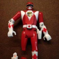 Figuras y Muñecos Power Rangers: FIGURA ORIGINAL POWER RANGERS ROJO COJO BANDAI AÑOS 90. Lote 133764358