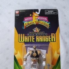Figuras y Muñecos Power Rangers: BLUE RANGER BLANCO SPECIAL EDITION BANDAI POWER RANGERS. Lote 134290849