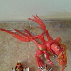 Figuras y Muñecos Power Rangers: LOTE POWER RANGERS, DRAGON RED XTREM MYSTIC FORCE Y DOS FIGURAS, LEGENDARY LION Y LEGENDARY PHOENIX . Lote 134515390