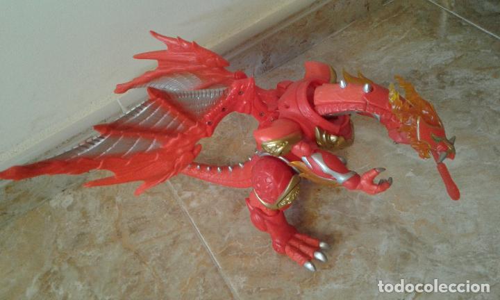 Figuras y Muñecos Power Rangers: Lote Power Rangers, Dragon Red Xtrem Mystic Force y dos figuras, Legendary Lion y Legendary Phoenix - Foto 2 - 134515390
