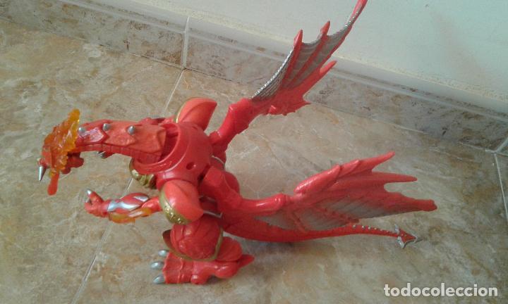Figuras y Muñecos Power Rangers: Lote Power Rangers, Dragon Red Xtrem Mystic Force y dos figuras, Legendary Lion y Legendary Phoenix - Foto 4 - 134515390