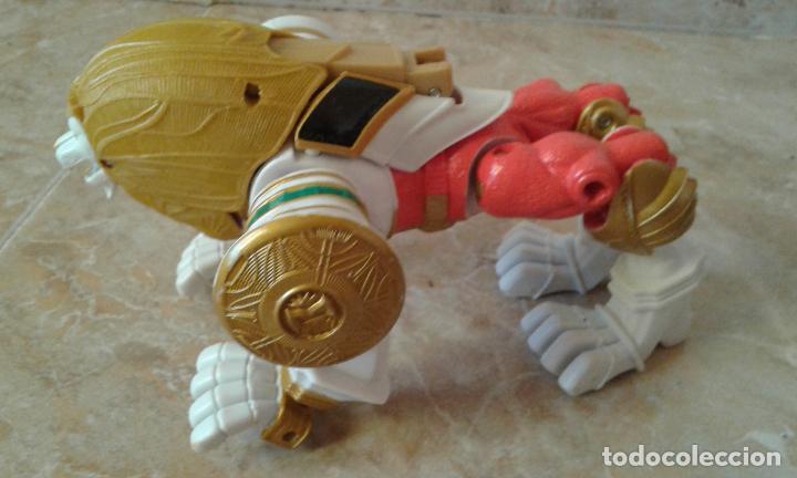 Figuras y Muñecos Power Rangers: Lote Power Rangers, Dragon Red Xtrem Mystic Force y dos figuras, Legendary Lion y Legendary Phoenix - Foto 10 - 134515390