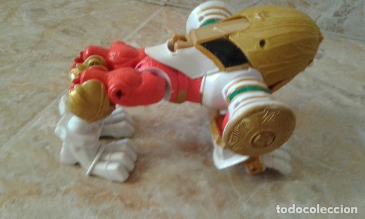 Figuras y Muñecos Power Rangers: Lote Power Rangers, Dragon Red Xtrem Mystic Force y dos figuras, Legendary Lion y Legendary Phoenix - Foto 11 - 134515390