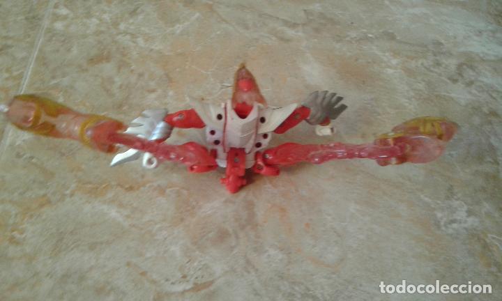 Figuras y Muñecos Power Rangers: Lote Power Rangers, Dragon Red Xtrem Mystic Force y dos figuras, Legendary Lion y Legendary Phoenix - Foto 13 - 134515390