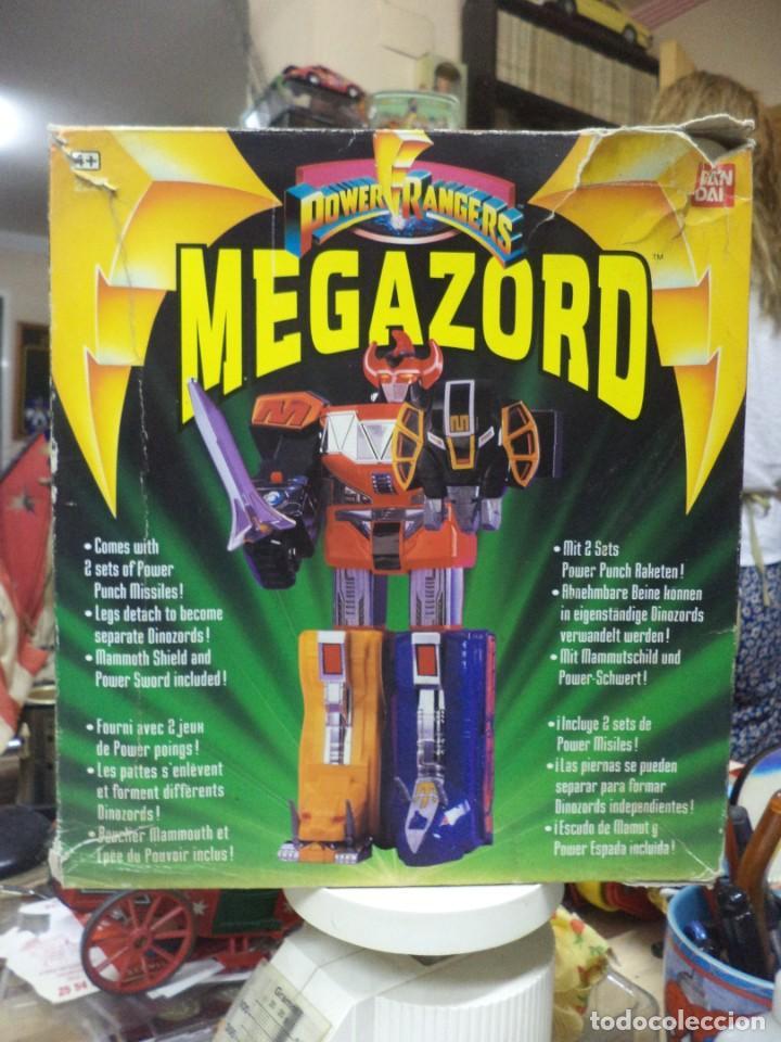 POWER RANGERS MEGAZORD 1ªGENERACIÓN 1993.BANDAI REF.2220.DINOZORD. (Juguetes - Figuras de Acción - Power Rangers)